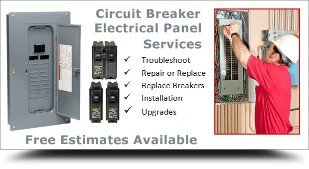 Circuit Breaker Service Panel