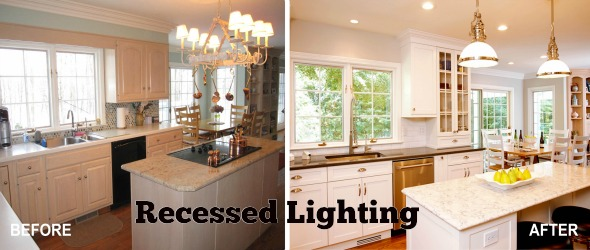 Recessed lighting fixtures a cost effective home improvement mozeypictures Choice Image