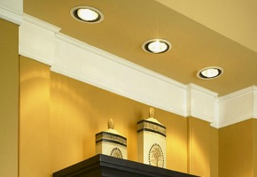 Burned Recessed Lights