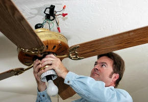 Want To Install Your Ceiling Fan This Can Be Fun Provided You Take Some Basic Precautions